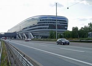 "Fernbahnhof ""The Squaire"" Frankfurt am Main"